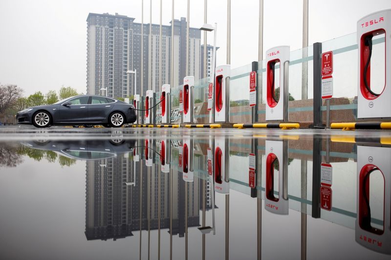 Tesla's China orders halved in May - The Information
