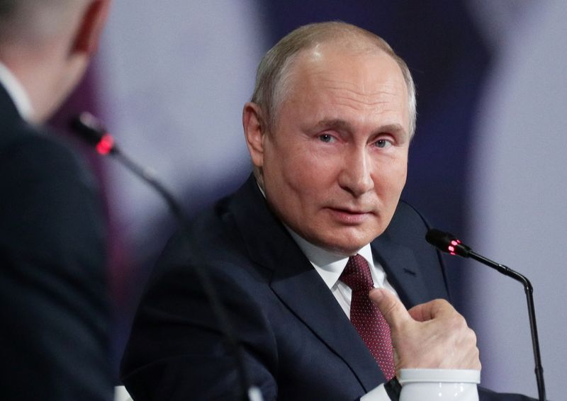 Putin calls U.S. ransomware allegations an attempt to stir pre-summit trouble