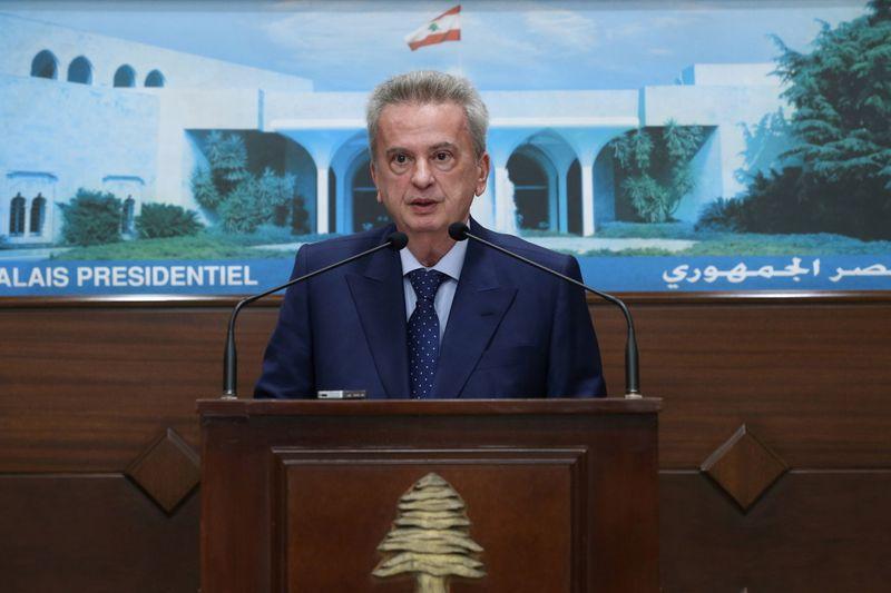 Ouverture d'une enquête en France sur le gouverneur de la banque centrale du Liban, écrit l'AFP