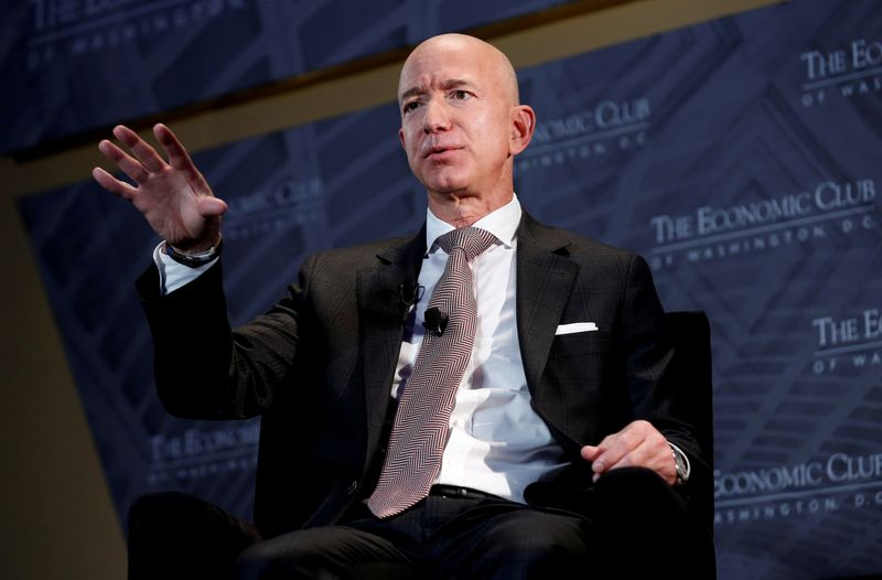 Amazon's billionaire founder Jeff Bezos to fly to space next month