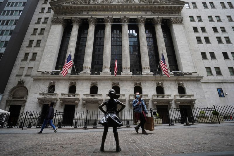 Wall St opens flat as investors await inflation data