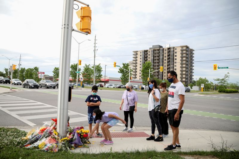 Man suspected of killing Canadian Muslim family with his truck was motivated by hate -police