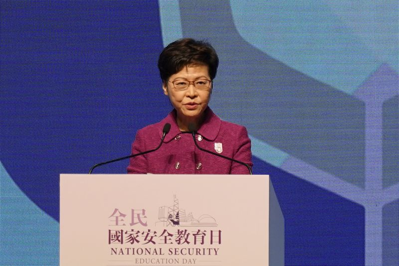 Foreign judges will remain part of HK's 'hard as a rock' judicial system - Lam