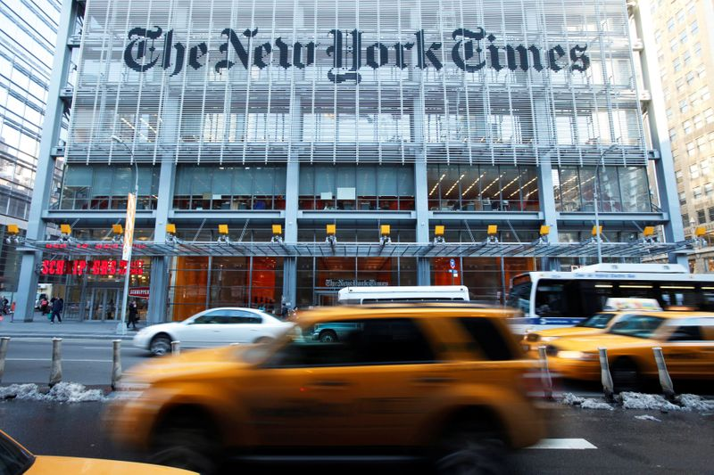 Finiancial Times, New York Times, Bloomberg News websites down