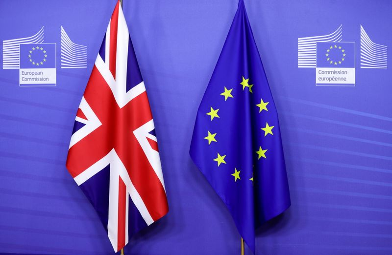 UK urges EU to move on post-Brexit trade with Northern Ireland