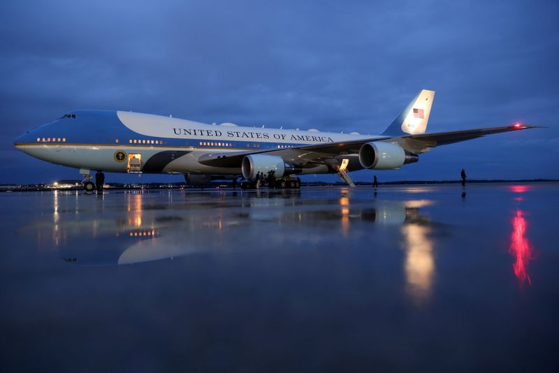 Boeing lifts price tag for Air Force One contract -USAF official