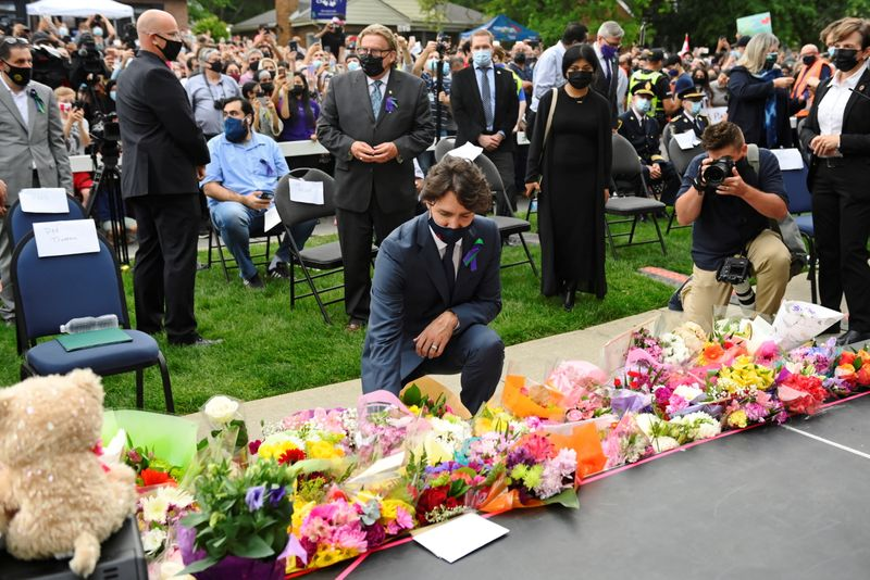 In vigil remembering Canadian Muslim family, a vow that 'this is our city'
