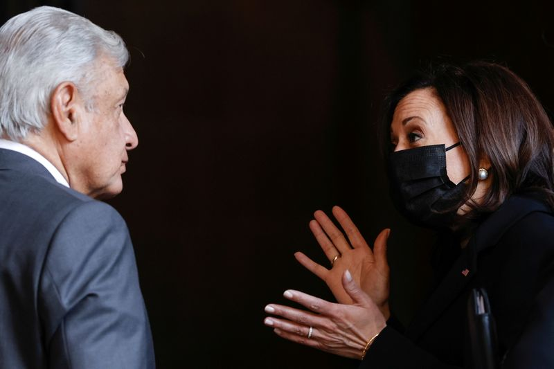 Mexico hails Harris after visit, flags more border talks