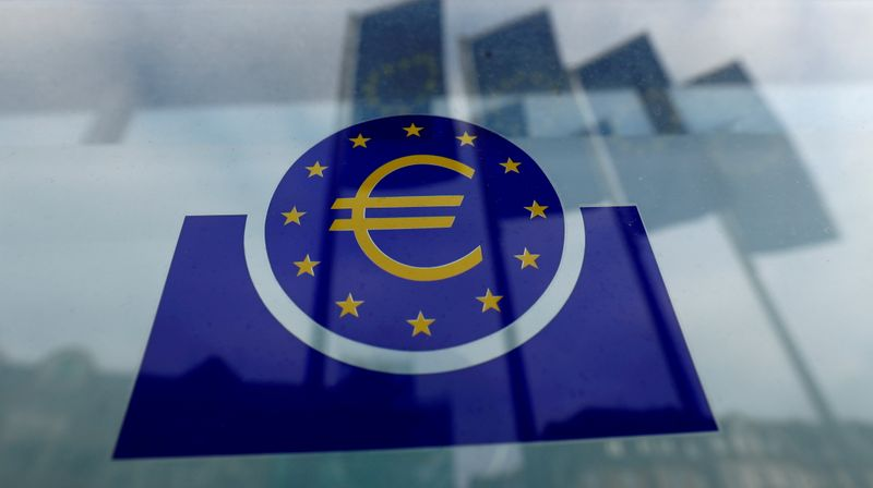 ECB projects brighter outlook but keeps