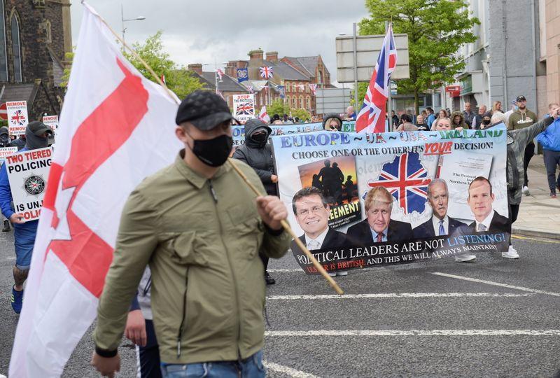 Biden exhorte Londres à ne pas compromettre la paix en Irlande du Nord