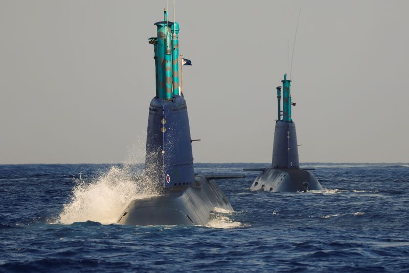 Exclusive: In the belly of the whale: Israeli sub simulates strike