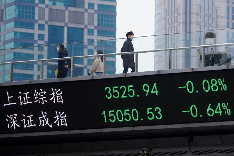 Ações da China fecham em alta com alívio de temores de inflação