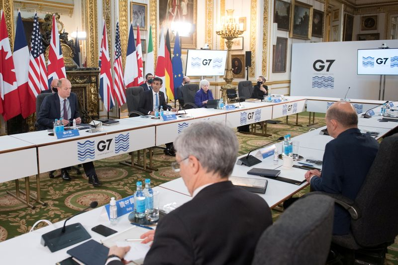 Analysis: G7 global tax plan may hit corporate titans unevenly