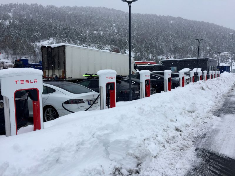 Time for Norway to tax luxury electric cars, IMF economists say