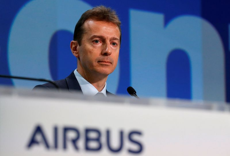 Airbus focus is on evolving existing jet models, CEO says