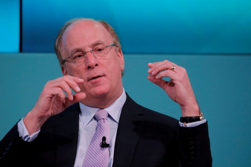 BlackRock's Fink says has no plans to leave, but firm in