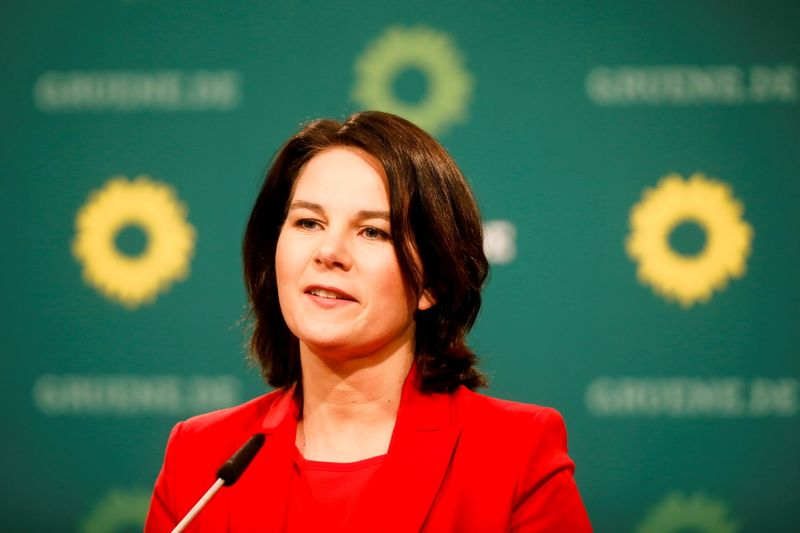 With moderation, German Greens seek to reignite election campaign
