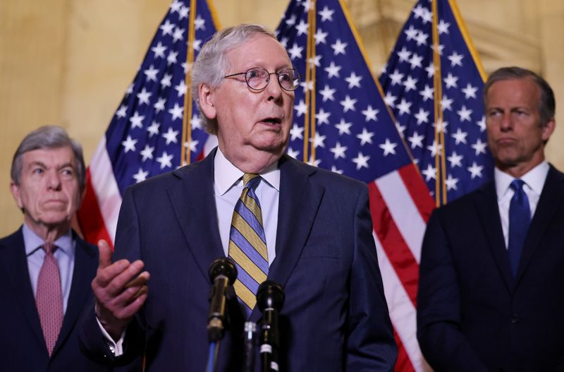 No U.S. Senate infrastructure deal yet-Senate Republican Leader McConnell