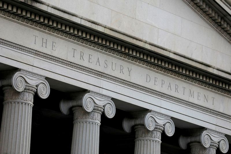 U.S. May budget deficit shrinks as revenues rise sharply, Treasury says