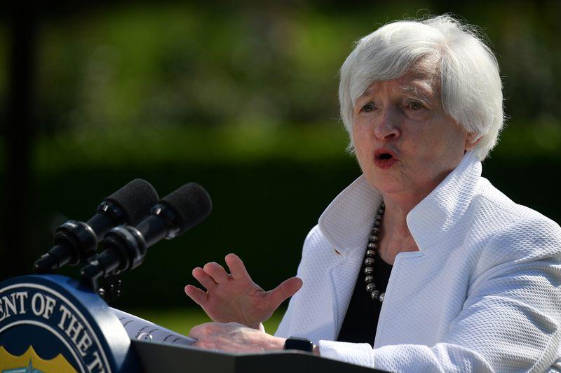 U.S. Treasury's Yellen says Congress needs to fund debt relief programs