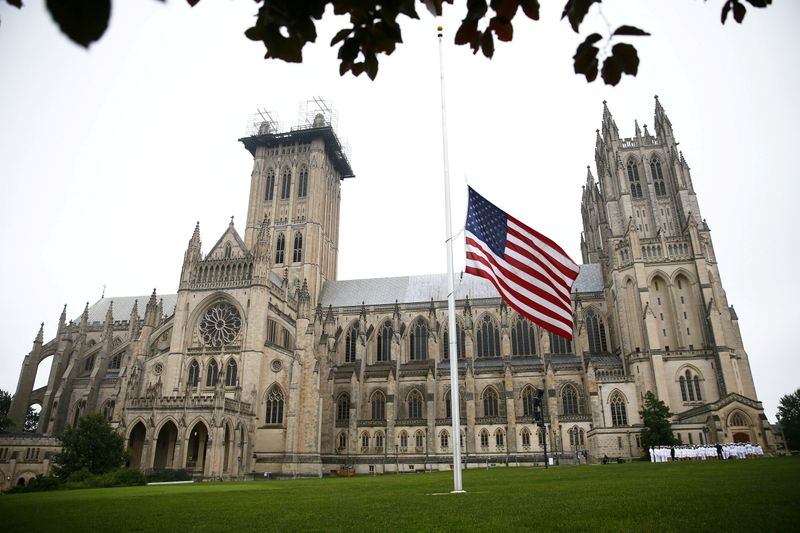 U.S. National Cathedral bells toll 600 times to mark COVID-19 victims