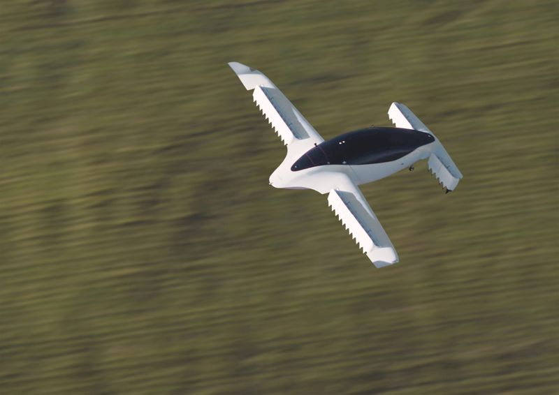 Flying taxis could poach passengers from planes, Avolon says