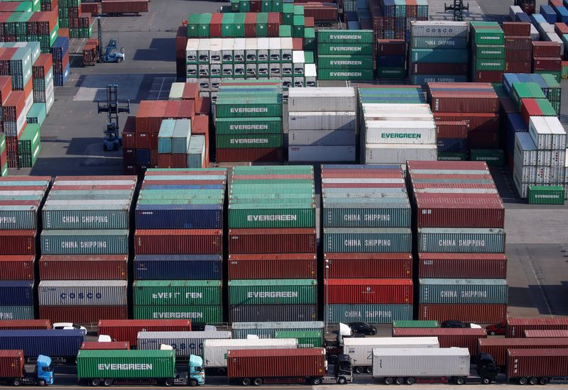Japan's exports set for biggest monthly gain since 1980: Reuters poll