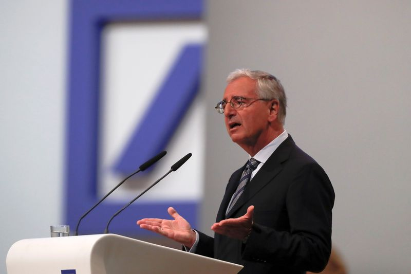 Exclusive: ECB tells Deutsche Bank to find new chairman fast - sources
