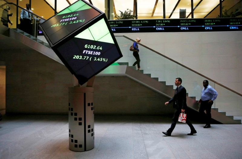 FTSE 100 posts best week in over a month as economy strengthens