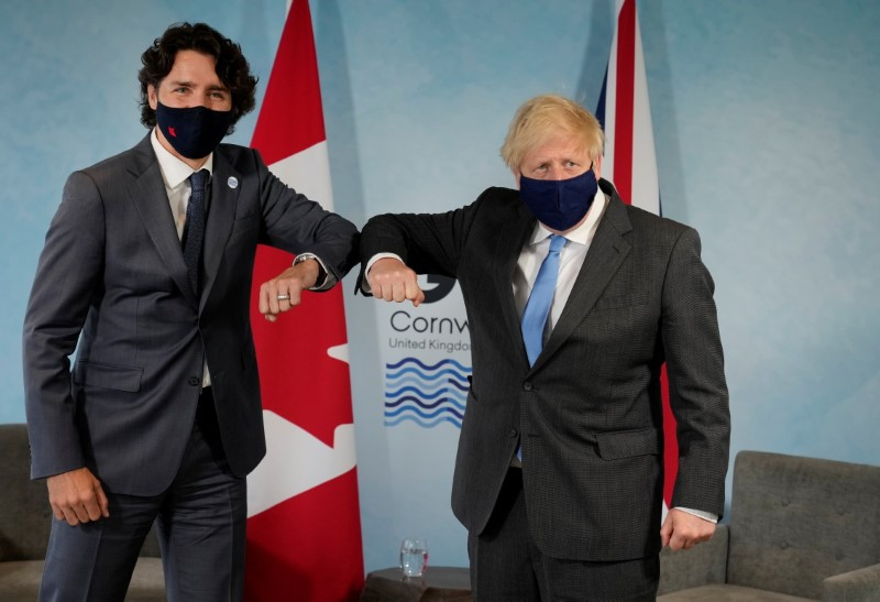 UK, Canada agreed to redouble efforts for trade deal