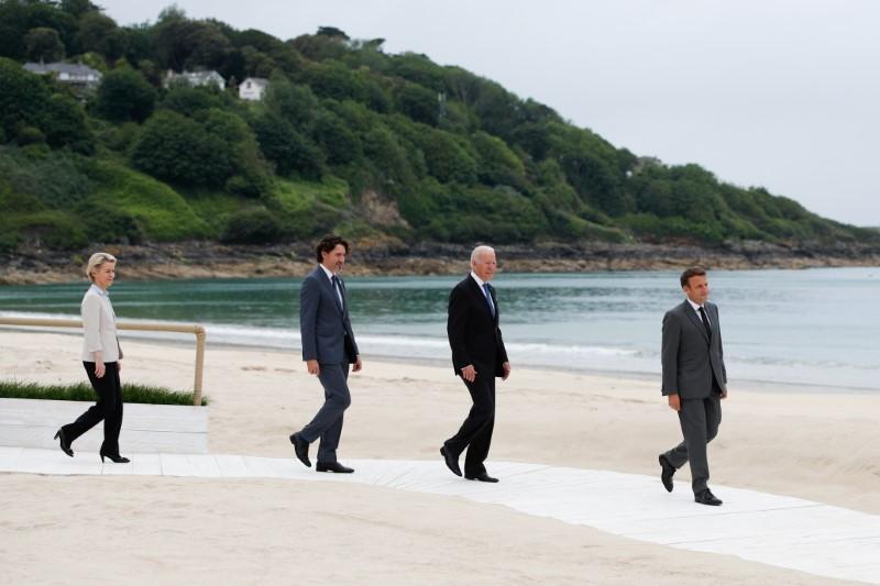 G7, leader Ue hanno discusso di Cina e obiettivo vaccini per paesi poveri - Francia