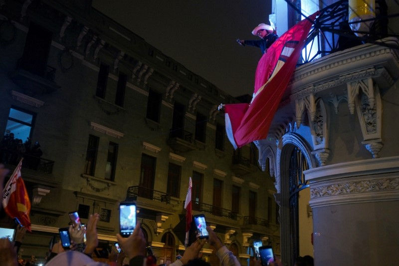 Peru's socialist party chief cites 'victory' as vote count nears end