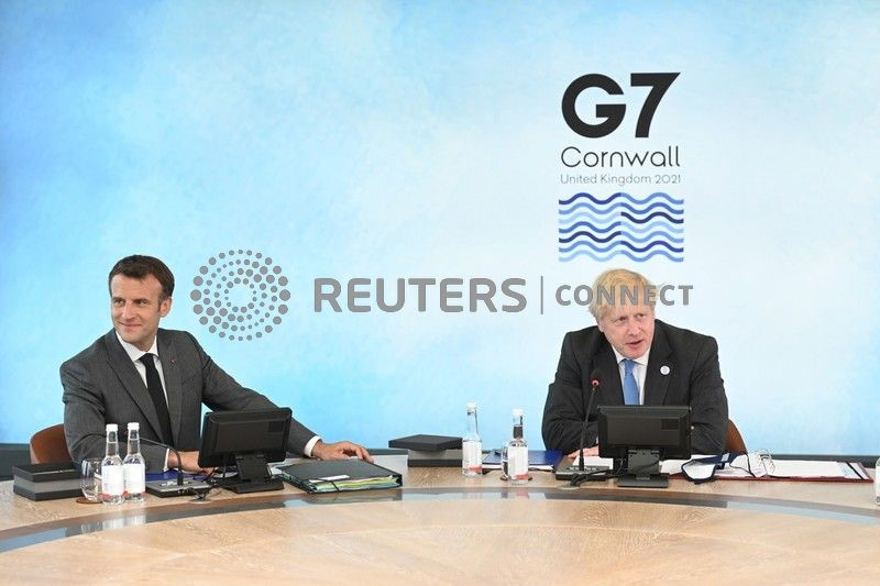 Vertice G7 è opportunità per imparare da pandemia - Johnson