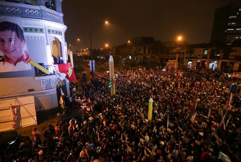 Líder do partido socialista do Peru cita