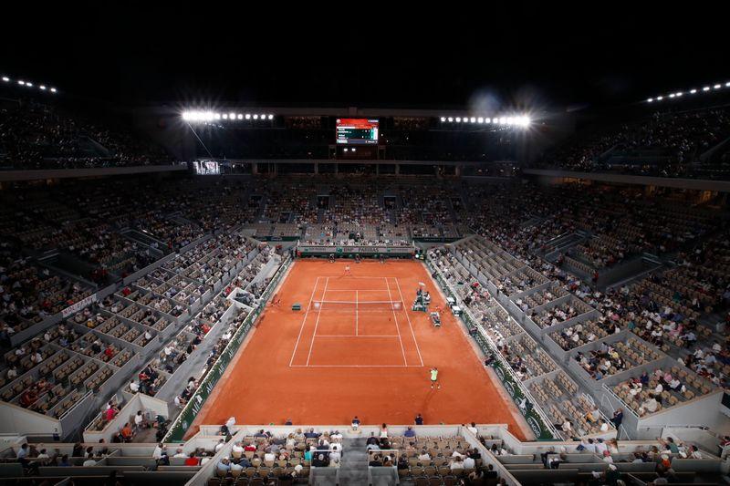 Roland-Garros: Les autorités françaises accordent une dérogation au couvre-feu