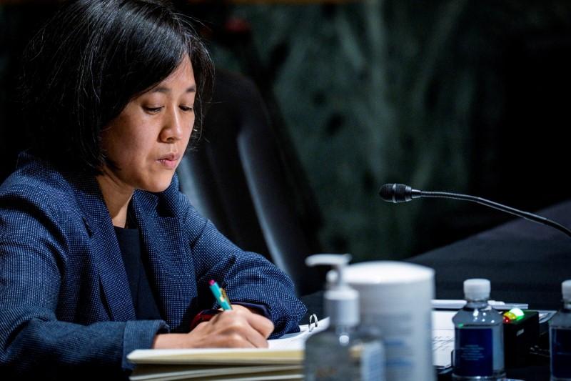 U.S. Trade Representative Tai to hold talks in Britain next week