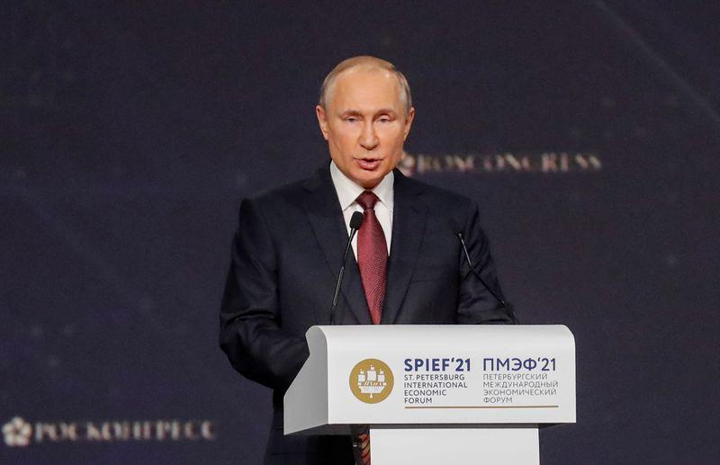 Putin dice relación Rusia-EEUU está en su punto más bajo en años