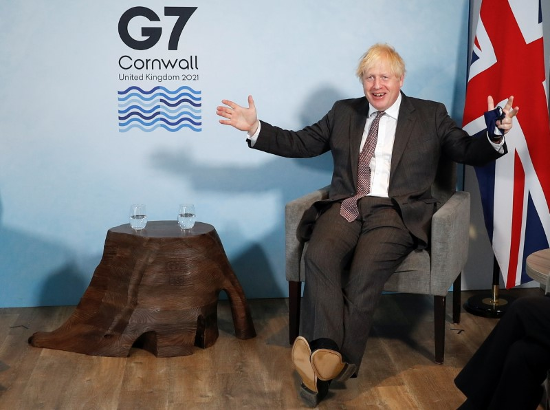 UK PM stands firm on post-Brexit trade, calls for pragmatism