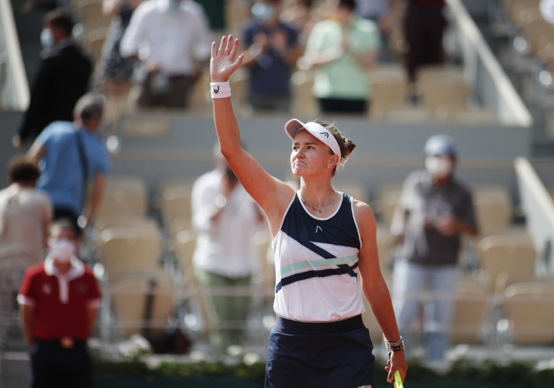 Tennis-Unseeded Krejcikova wins maiden Grand Slam singles title in Paris