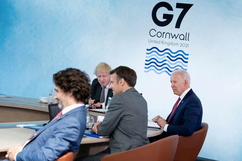 G7、大規模景気支援「必要な限り」継続 過去の過ち繰り返さず