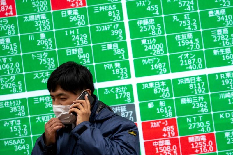 Global stocks waver as investors eye the Fed