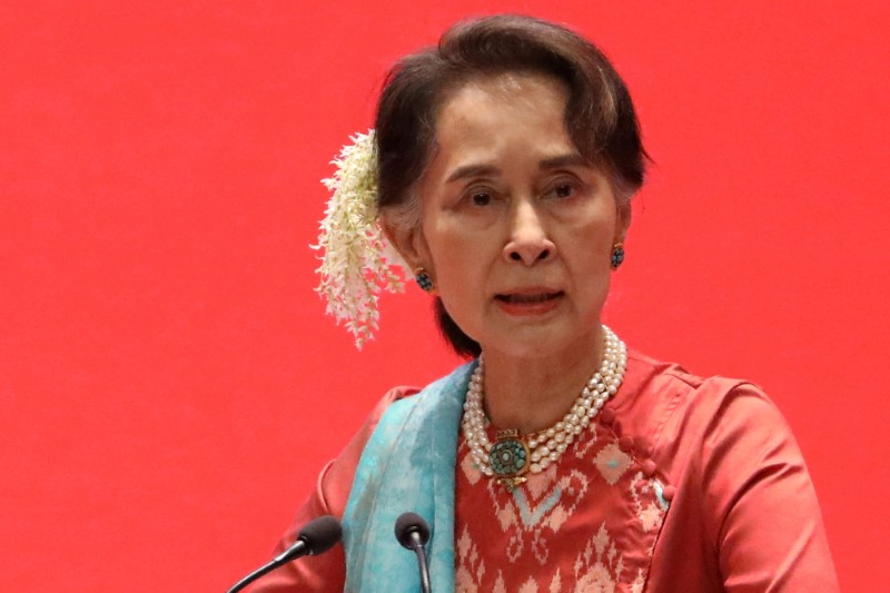 Suu Kyi's trial set to start in Myanmar, junta rejects U.N. rights chief's statement