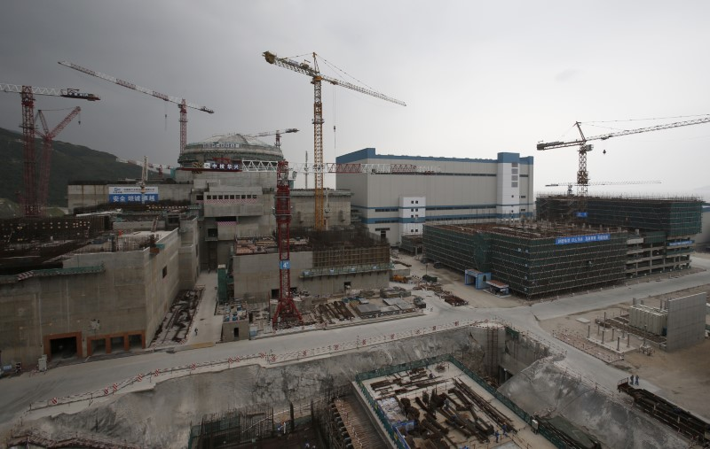 EDF examines gas build-up at Chinese nuclear plant