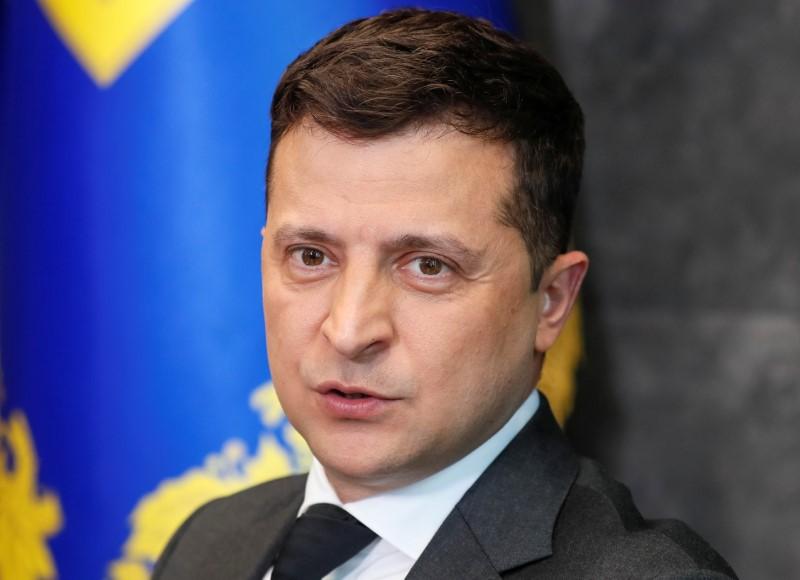 ウクライナ大統領「バイデン氏は明確な答えを」、NATO加盟巡り