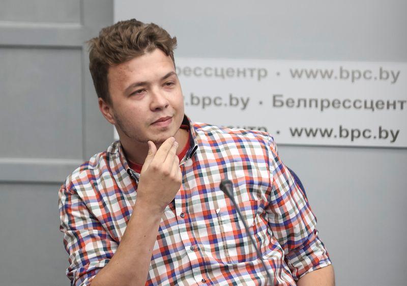 Biélorussie: L'opposant Protassevitch fait une nouvelle apparition publique
