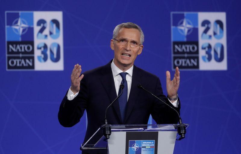 NATO、中国を安保リスクと認識 軍事的野心に対抗=共同声明