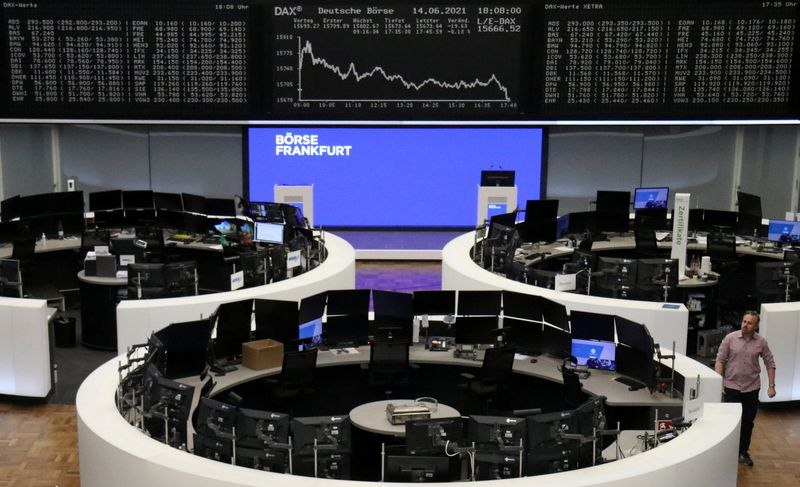 European shares end slightly higher as Fed comes into focus