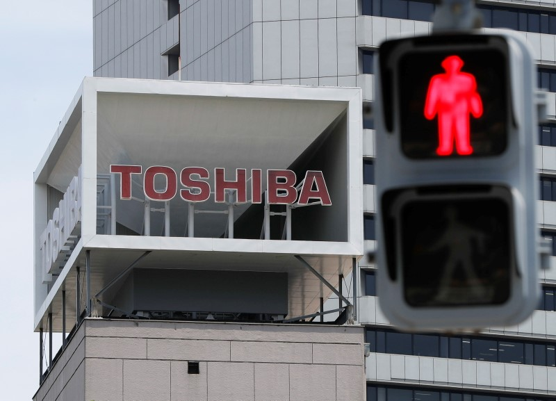 Japan's trade minister unapologetic about ministry's dealings with Toshiba