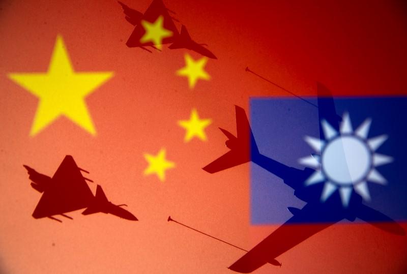 Taïwan signale la plus grande intrusion d'avions chinois dans son espace aérien