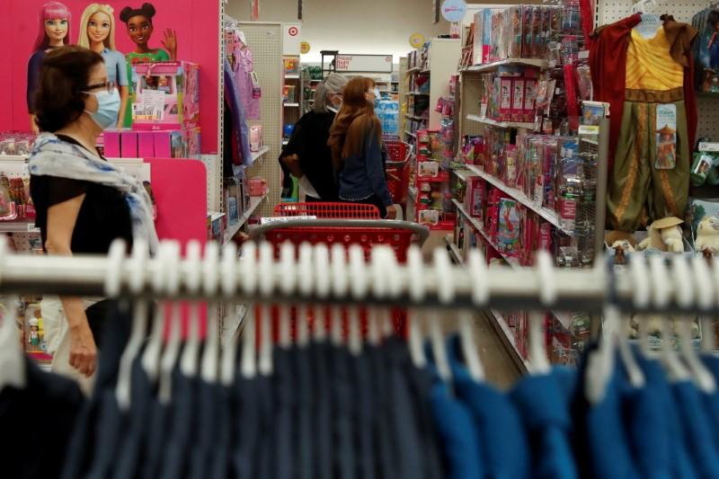 米5月小売売上高1.3%減、予想超える落ち込み サービス消費へシフト